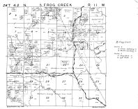 Frog Creek Township - West, Chittamo, Washburn County 1952